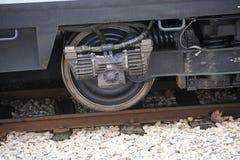 Tren de la rueda fotografía de archivo libre de regalías
