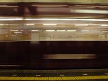 Tren de la velocidad Imagen de archivo