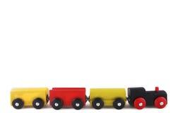 Tren de madera Imagen de archivo libre de regalías