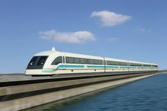 Tren de Maglev Foto de archivo libre de regalías
