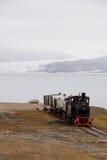 Tren de Ny Alesund Foto de archivo libre de regalías