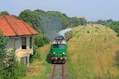 Tren de pasajeros Foto de archivo