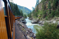 Tren de pasajeros Imagen de archivo libre de regalías