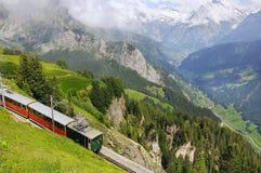 Tren de pasajeros retro Foto de archivo