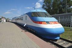 Tren de pasajeros Sokol-250 Fotografía de archivo libre de regalías