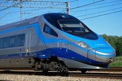 Tren de Pendolino Fotografía de archivo