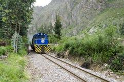 Tren de Perurail Imagen de archivo