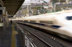 Tren de punto negro en Japón Fotos de archivo