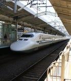 Tren de punto negro japonés Imágenes de archivo libres de regalías