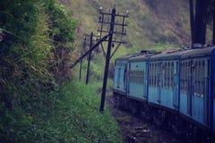 Tren de Sri Lanakan Fotos de archivo libres de regalías