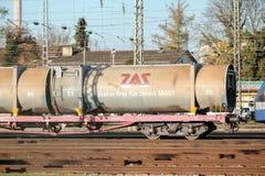 Tren de ZAS Foto de archivo libre de regalías