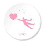 Tren del amor Imagen de archivo libre de regalías
