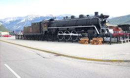 Tren del antaño Fotos de archivo