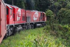 Tren del Brasil Imagenes de archivo