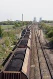 Tren del carbón foto de archivo