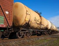 Tren del cargo Foto de archivo libre de regalías