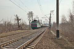 Tren del cargo Imagenes de archivo