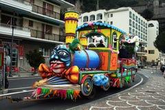 Tren del carnaval Foto de archivo libre de regalías