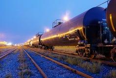 Tren del combustible Imagen de archivo libre de regalías