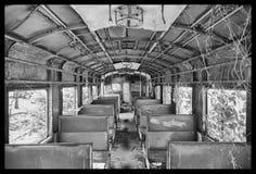 Tren del decaimiento foto de archivo libre de regalías