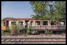 Tren del decaimiento Foto de archivo