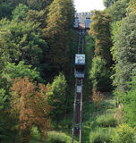Tren del estante Imagenes de archivo