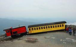 Tren del ferrocarril de diente de Washington del montaje Fotos de archivo libres de regalías
