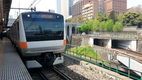 "Tren del japonés del  de Å de ChÅ "" Foto de archivo libre de regalías"
