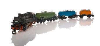 Tren del juguete Fotos de archivo libres de regalías