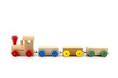 Tren del juguete Imagenes de archivo