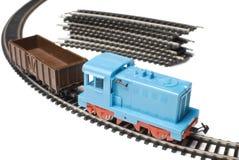 Tren del juguete | Aislado Foto de archivo