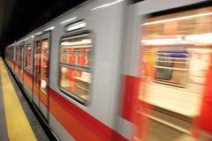 Tren del metro foto de archivo libre de regalías