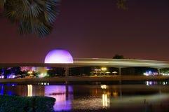 Tren del monocarril de Disney en Epcot Fotografía de archivo libre de regalías