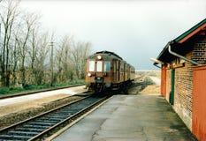 Tren del Oldtimer Fotografía de archivo libre de regalías