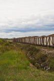 Tren del pantano Foto de archivo libre de regalías