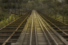 Tren del tránsito Fotos de archivo libres de regalías