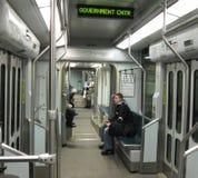 Tren del tubo de Boston imagenes de archivo