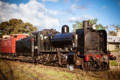 Tren del vapor de la herencia en Maldon Fotografía de archivo libre de regalías