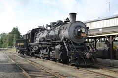 Tren del vapor de la locomotora 3025 de Essex Fotografía de archivo