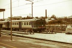 Tren desarmado Foto de archivo libre de regalías