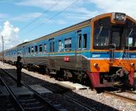 Tren diesel Imágenes de archivo libres de regalías