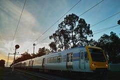 Tren a dirigirse Fotos de archivo