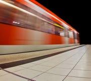 Tren Driveby Foto de archivo libre de regalías