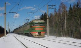 Tren eléctrico Foto de archivo