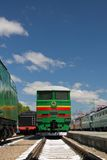 Tren eléctrico Imagen de archivo libre de regalías