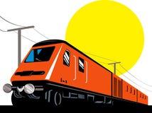 Tren eléctrico libre illustration