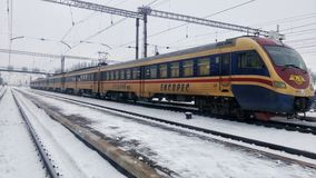 Tren eléctrico de EPL2T Fotos de archivo libres de regalías