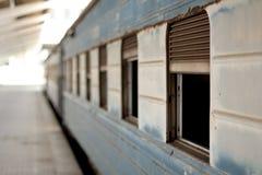 Tren en África Foto de archivo