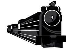 Tren en estilo abstracto ilustración del vector
