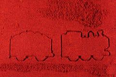 Tren en pimienta Imagen de archivo libre de regalías